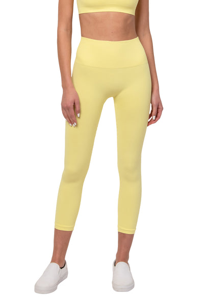 Pastel Yellow Legging