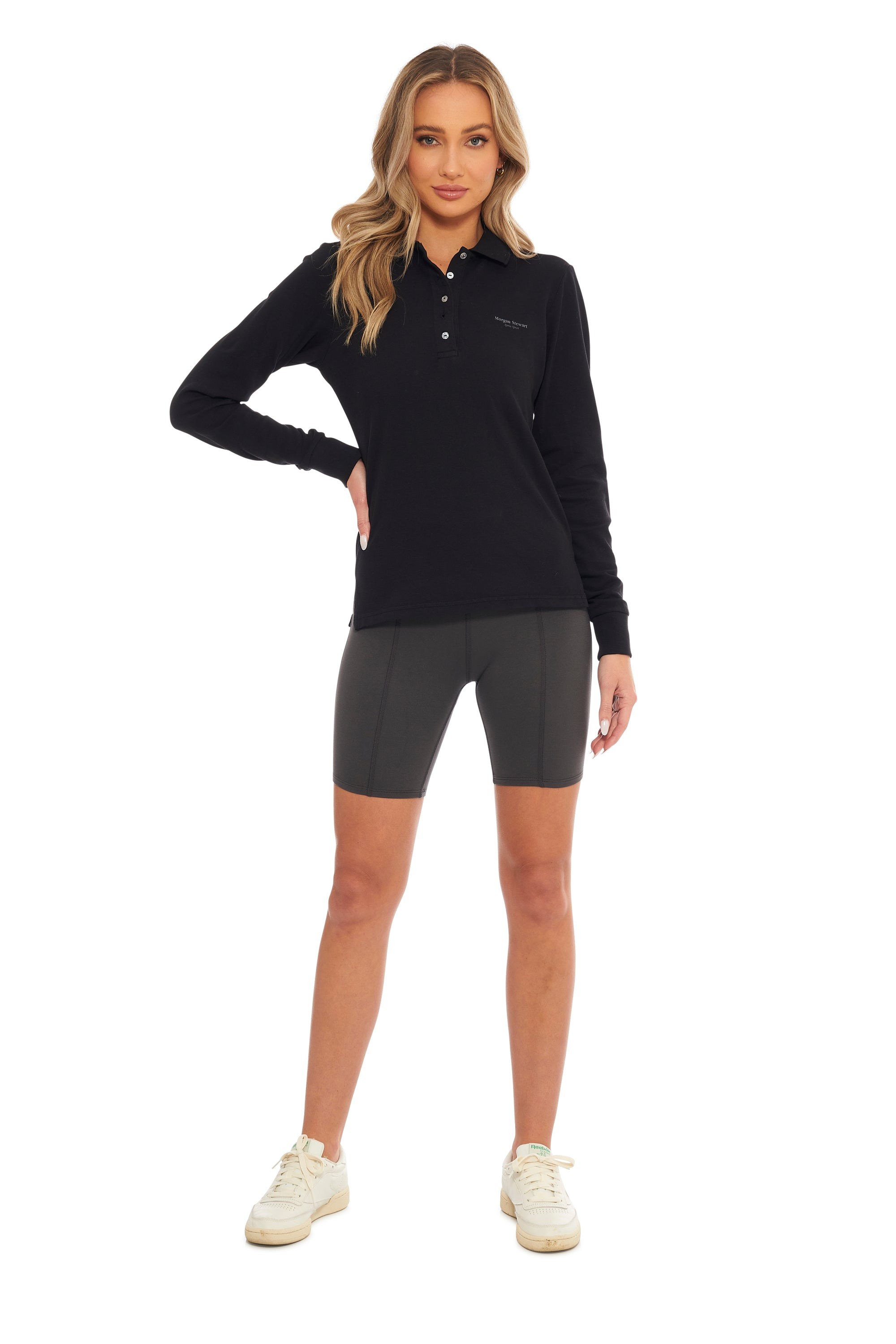 Slate Classic Long Sleeve Polo