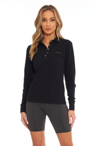 Load image into Gallery viewer, Slate Classic Long Sleeve Polo