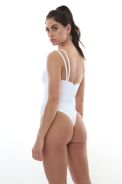 Flora one piece White