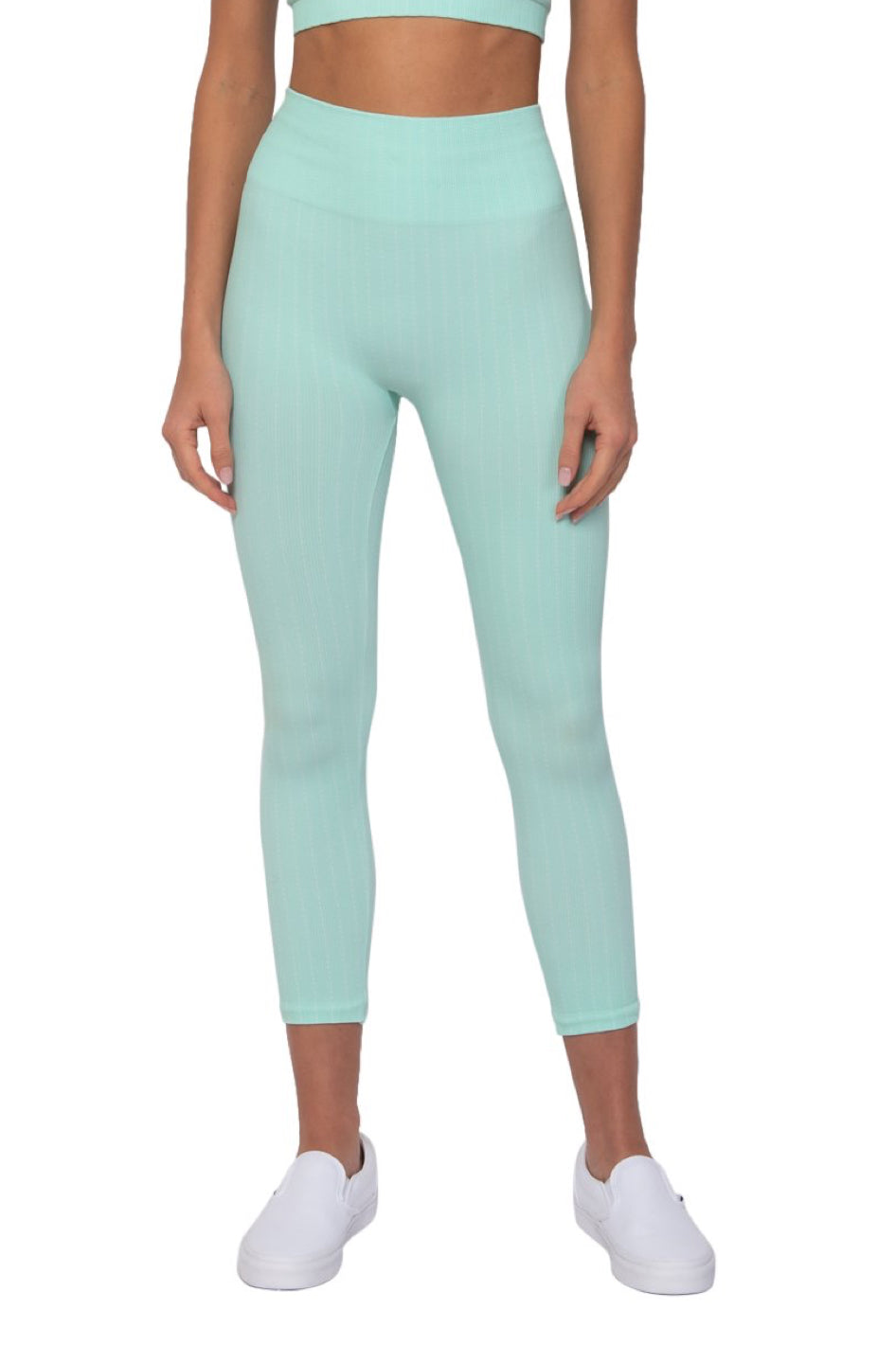 Seafoam Pin Stripe Legging