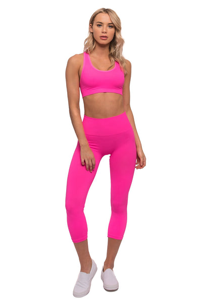Andy Sports Bra Popstar Pink