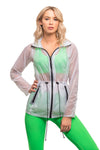 Corita Jacket Ghost Clear