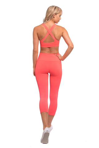 Jasper legging Electric Coral