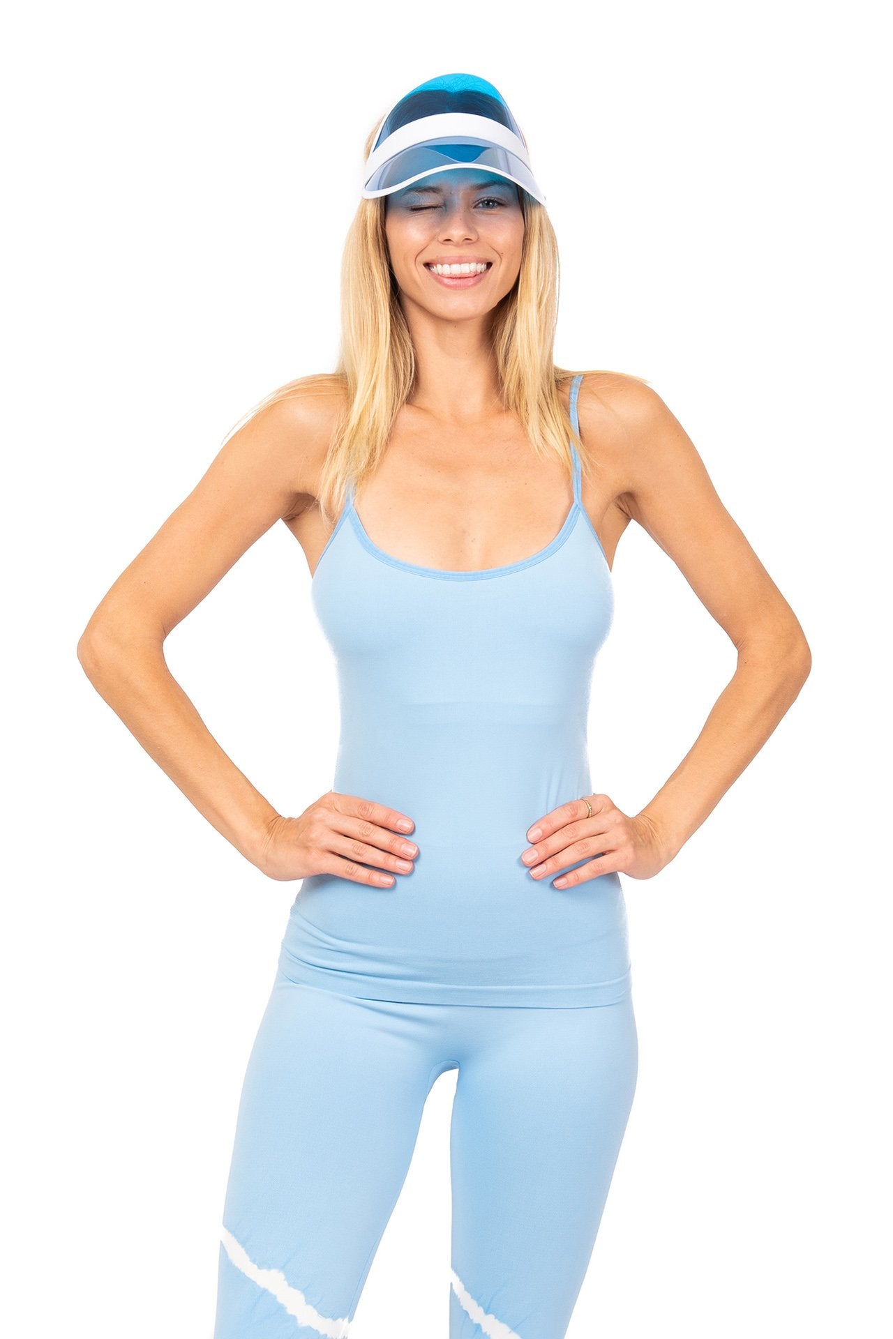 Vita LA Breeze Classic Performance Tank Ice Blue