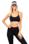 Moon Cross Back Sports Bra Midnight