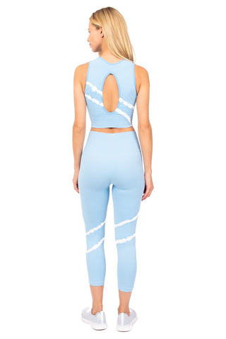 Nirvana Sports Bra Ice Blue