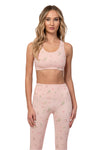 Rose Quartz Sports Bra