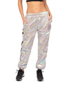 Star Metallic Track Pants