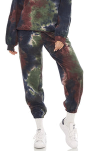 Load image into Gallery viewer, Hudson Trackpants- Black Tie Dye