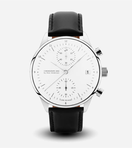 1844 Chronograph Watch - Black Strap