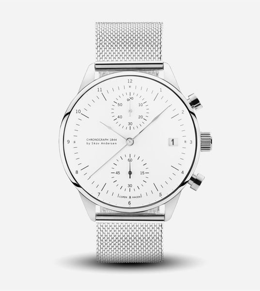 1844 Chronograph Watch - Mesh Band