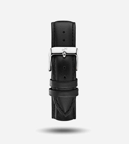 Black Leather - 20mm Strap