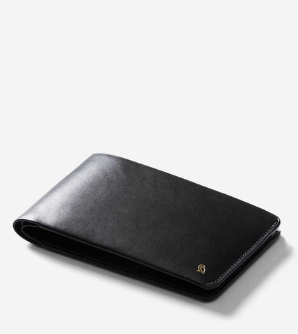 RFID Travel Wallet - Designers Edition - Black