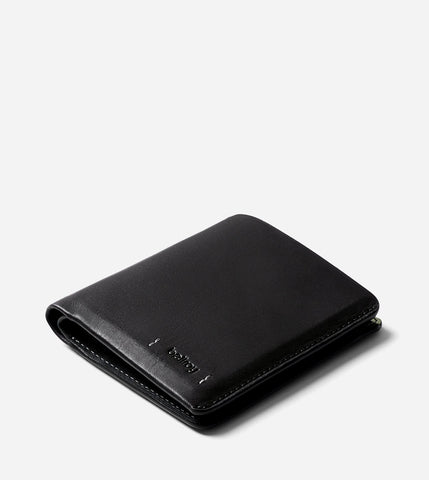 Note Sleeve Wallet - Premium Edition - Black