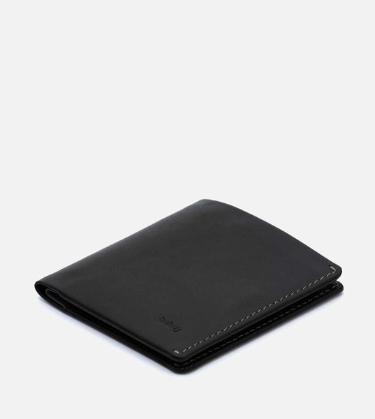 Note Sleeve Wallet RFID - Black