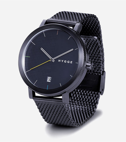 2203 Series - Black w Black Mesh Band