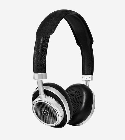 MW50 Wireless On-Ear Headphones, in Silver/Black