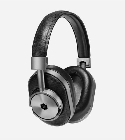 MW60 Wireless Over Ear Headphones, in Gunmetal/Black
