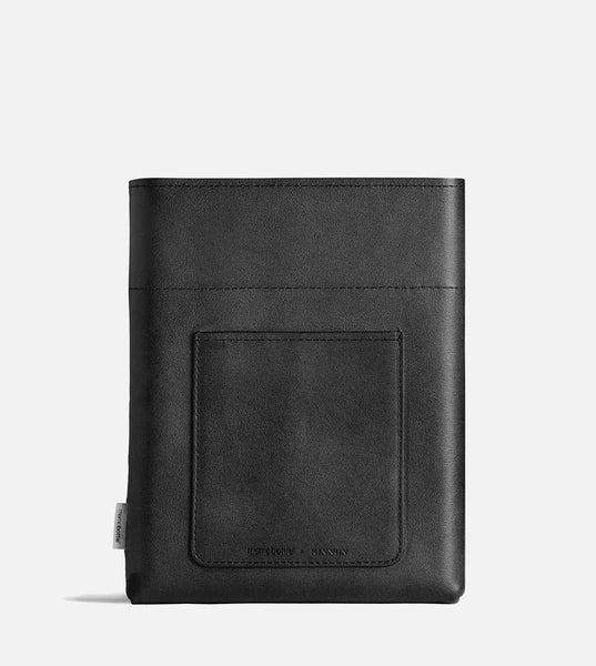 A5 Memobottle Leather Sleeve - Black