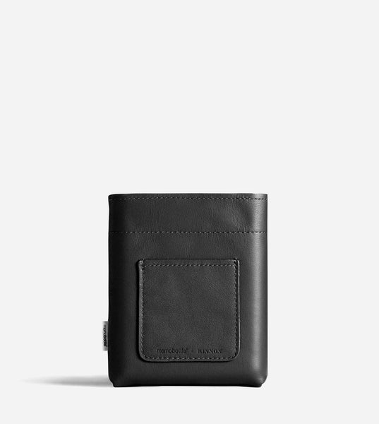 A6 Memobottle Leather Sleeve - Black