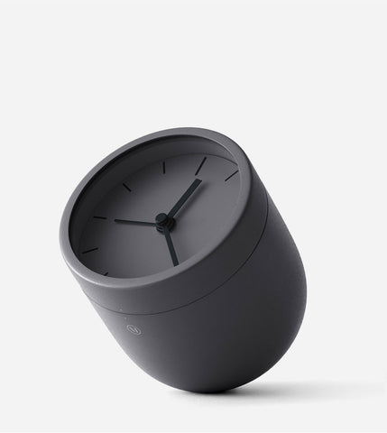 Norm Tumbler Alarm Clock, in Carbon