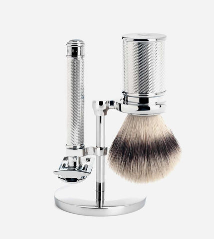 Traditional 3 Piece Shaving Set, Silvertip