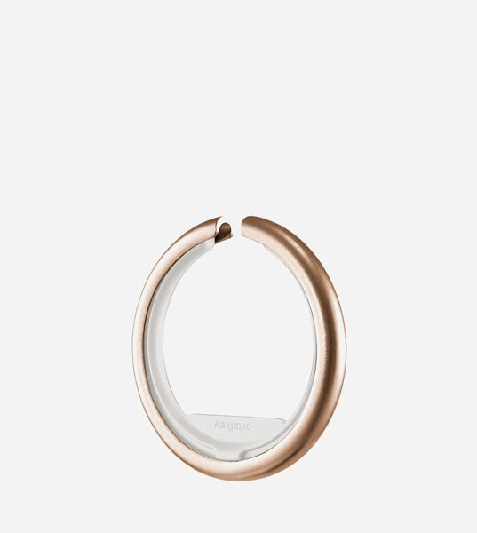 Orbitkey Ring, in Rose Gold