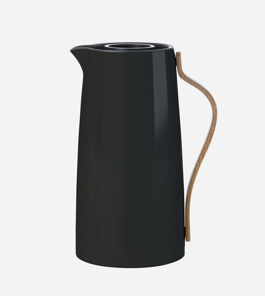 Emma Coffee Vacuum Jug, in Black