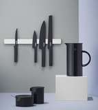 Pure Black Knives + Magnetic Knife Holder Bundle