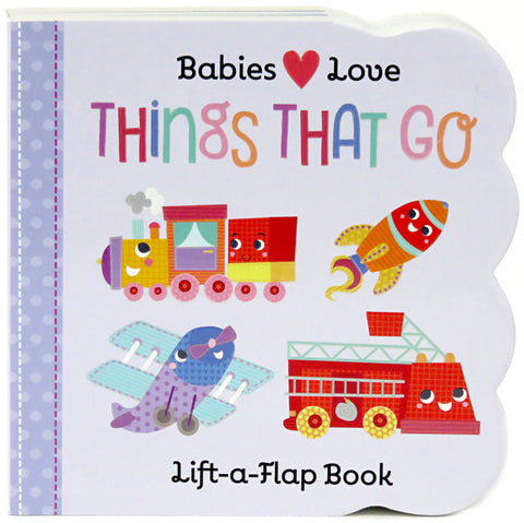 Things That Go Book for Toddlers