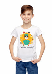 I will be a Doctor Youth Short Sleeve T-Shirt