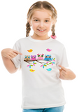 Owls Girl's T-Shirt