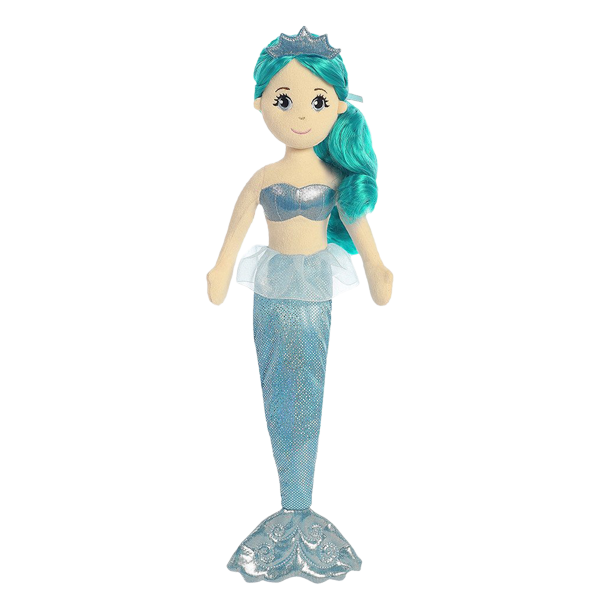 mermaid plush toy