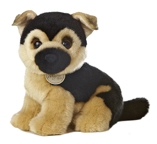 German Shepherd plush toy