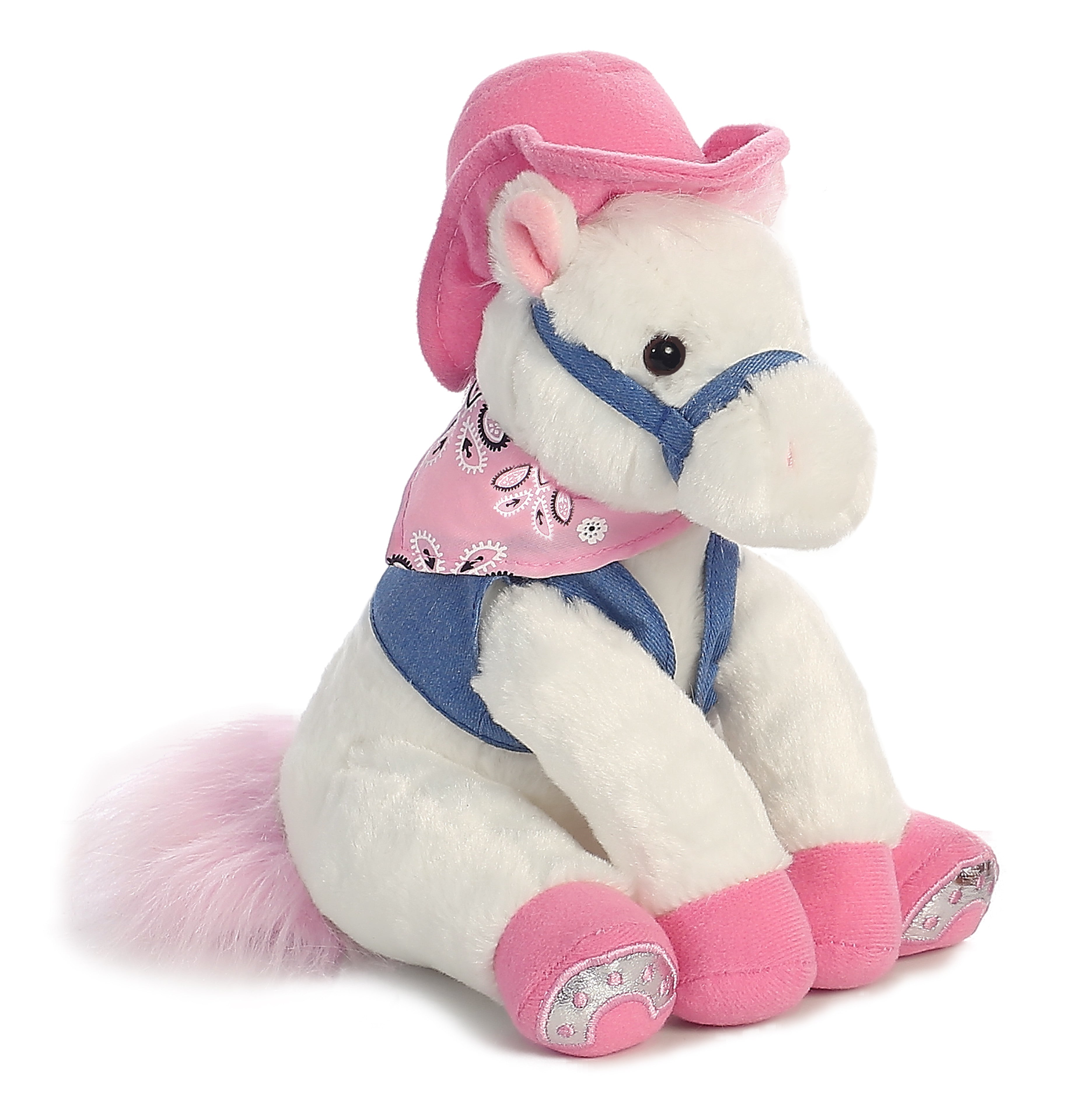 Little pony white with pink hat