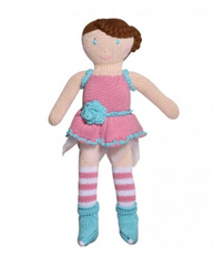 Hand Knit Doll - Fairy Fey 14""