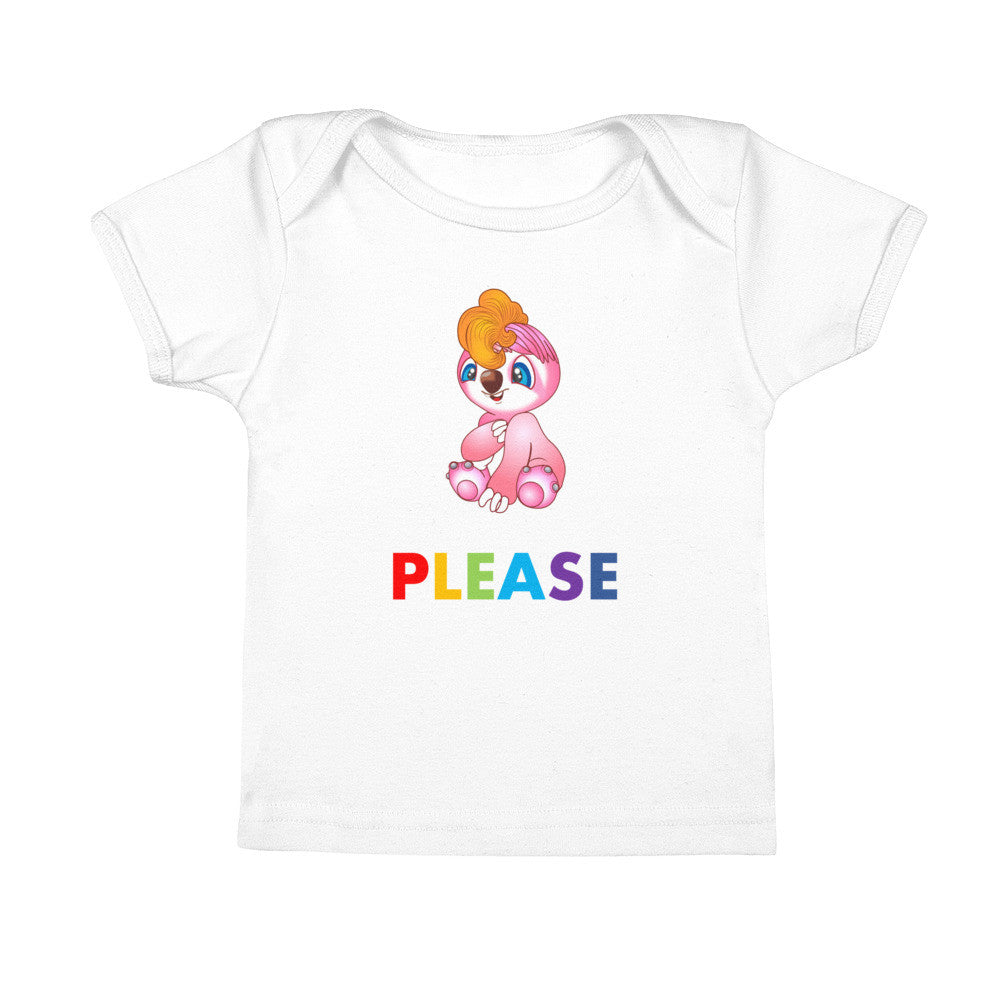 Polite Baby Tees saying Please