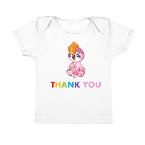 Polite Baby Tees saying Thank You