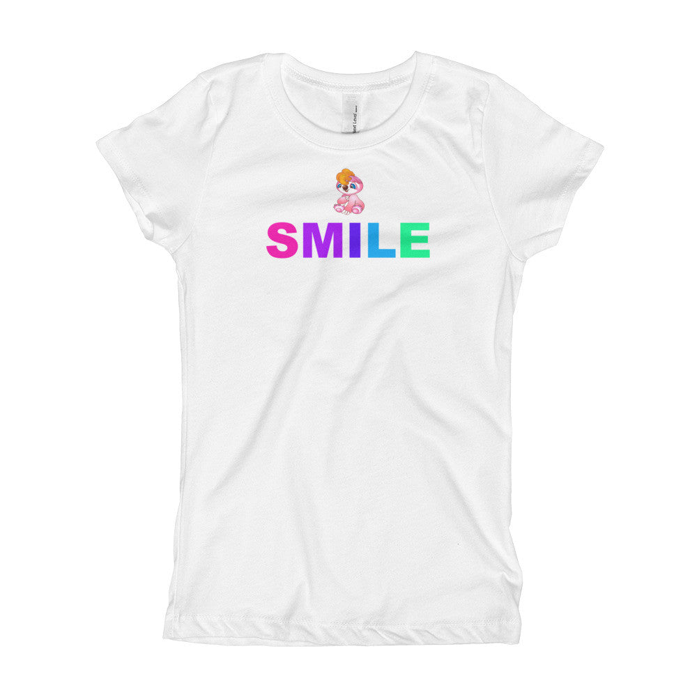 Pogees Smile Girl's T-Shirt