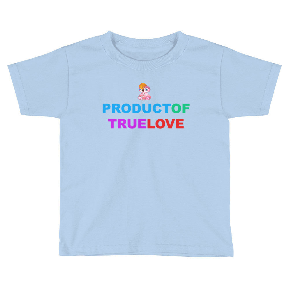 Pogees Product of True Love Kids Short Sleeve T-Shirt