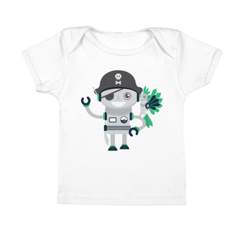 Pirate Robot Infant Tee