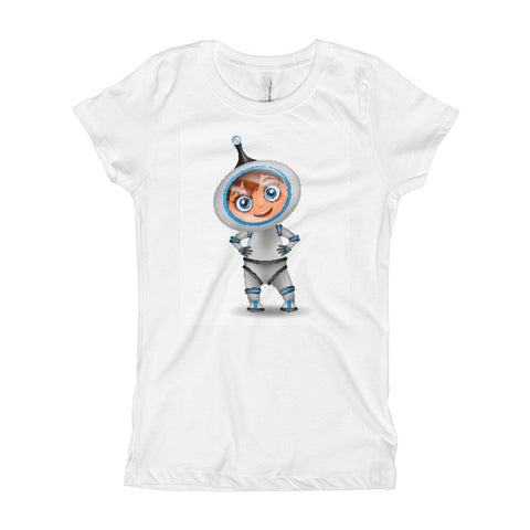 Astronaut Girl's T-Shirt