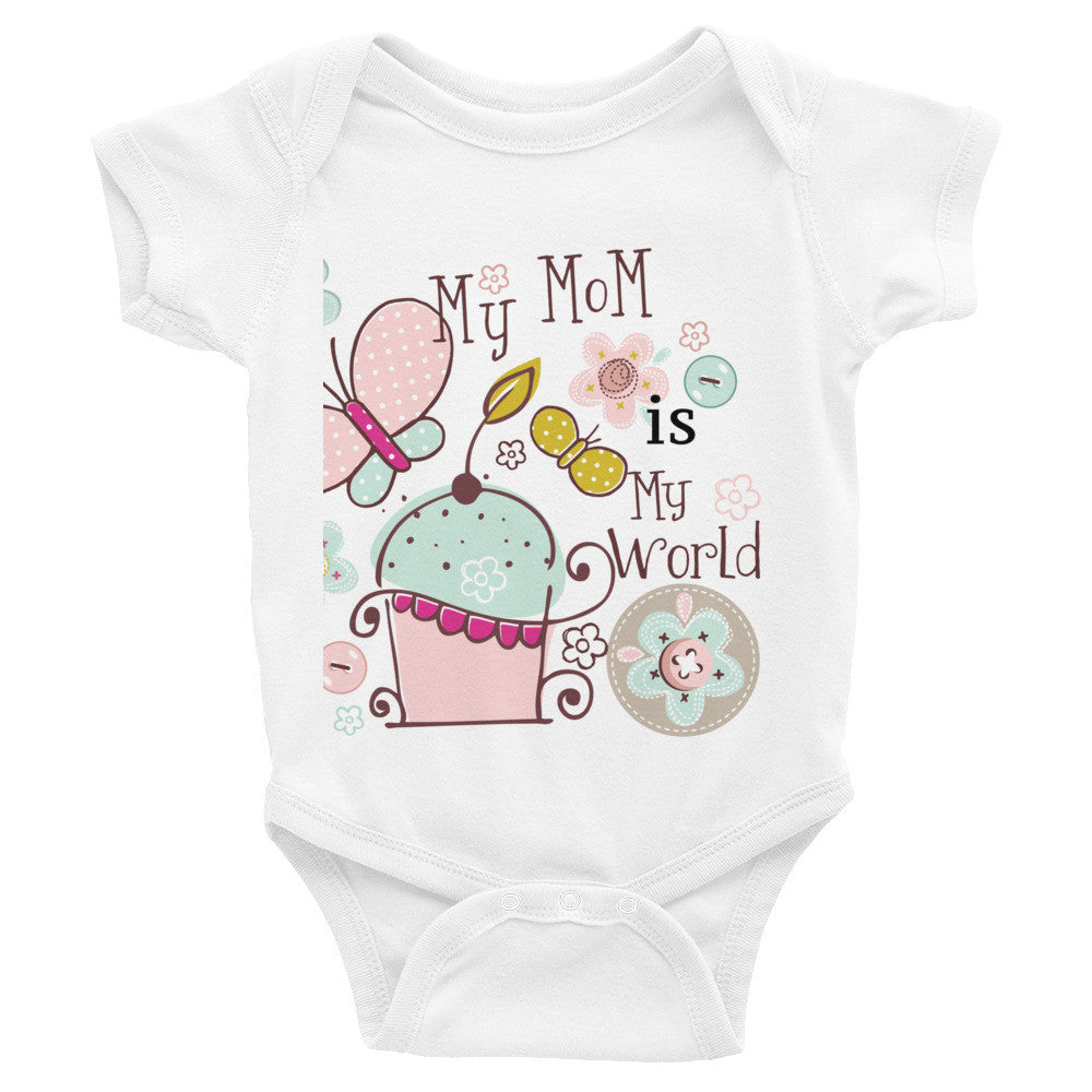 My Mom My World Romper