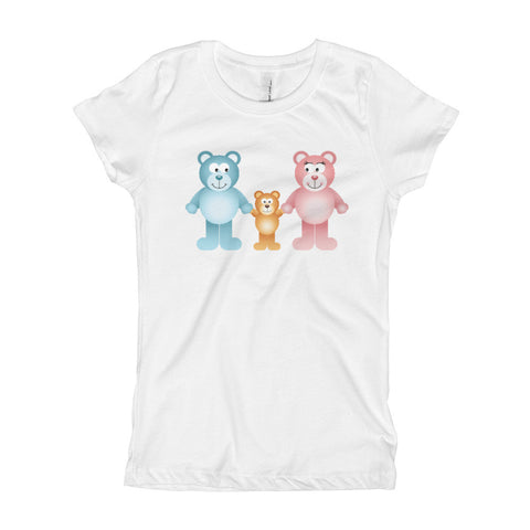 Bear Big Fam Girl's T-Shirt