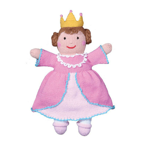Hand Knit Toy - Mildred the Princess Doll