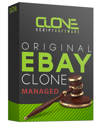 Managed eBay Clone Auction System
