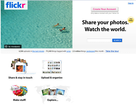 Flickr Clone