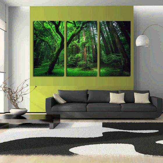 Green Forest - 3 Piece