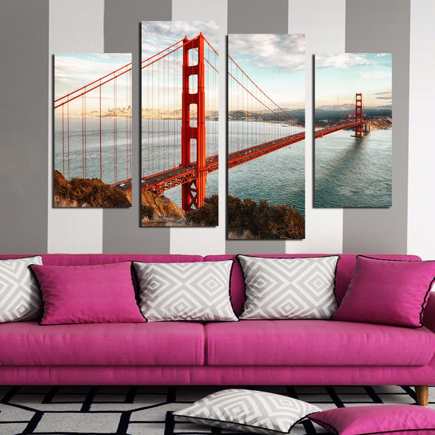San Francisco Cityscape Bridge